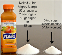 naked juice no sugar