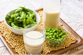 soy to treat menopausal symptoms