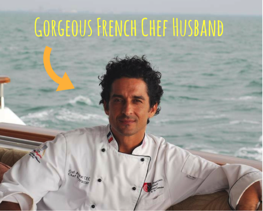 Gorgeous French chef