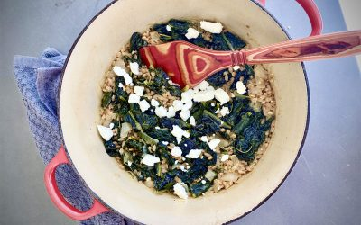 FARRO AND KALE RECIPE